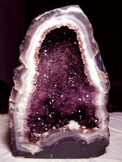 Amethyst geode