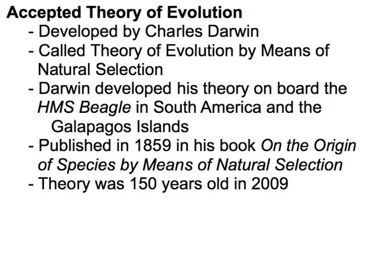 Charles Darwin S Principles Of Natural Selection