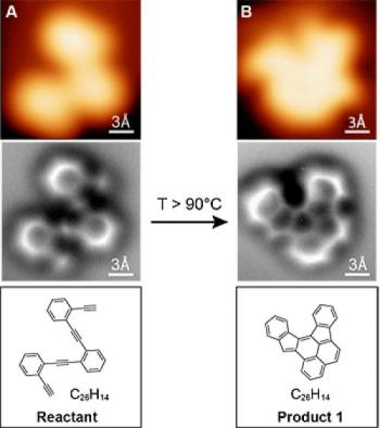Scientists Capture First Images of Molecules Before and After Reaction